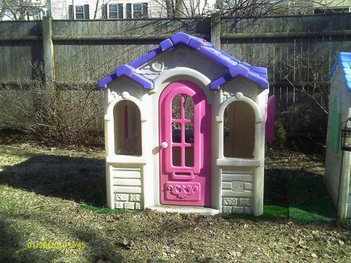 Kids playhouse ebay for Used kids playhouse