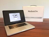 "(MINT MACBOOK PRO 15"") BOXED 2.7GHz i7,4gb-16GB RAM, 500GB-1TB,OFFICE 2016, ADOBE CS6"