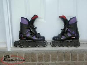 CCM Ladies size 8 in-line skates~ Like New ~ Reduced to sell