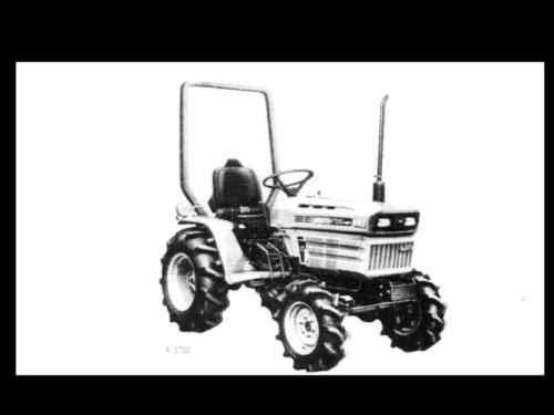 Kubota B7200 Tractor Seat : Kubota b business industrial ebay