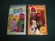 Barney Birthday VHS