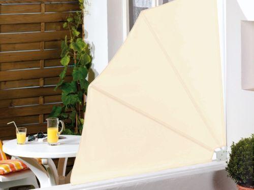 rundum beschattung ihrer terrasse oder ihres balkons mit seitenwandmarkisen ebay. Black Bedroom Furniture Sets. Home Design Ideas