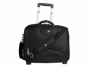 Swiss Gear SWA0568 Wheeled Business Case with Laptop Sleeve (Bla