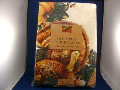 Thanksgiving Tablecloth Ebay