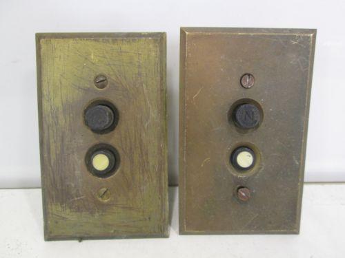 Vintage Push Button Light Switch Ebay
