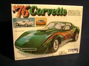 Corvette Plastic Model