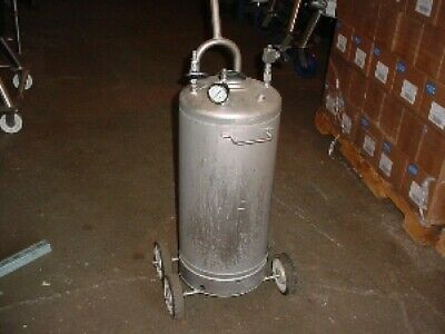 12 Gallon Stainless Steel Pressure Tank 130 Psi