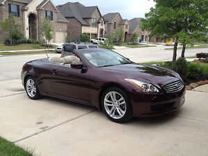 RENT: $100/DAY ----2010 Infiniti G37 CONVERTIBLE Premier Coupe