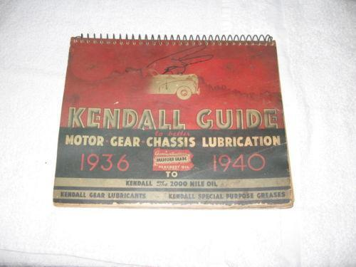 Kendall motor oil ebay for Kendall motor oil history
