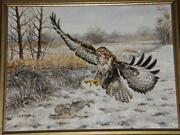 Ölbild Jagd