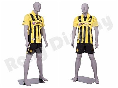 Male Fiberglass Sport Athletic Style Mannequin Dress Form Display Mc-cris01