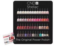 Shellac nail rack