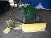 38' Deck Lawn Mower