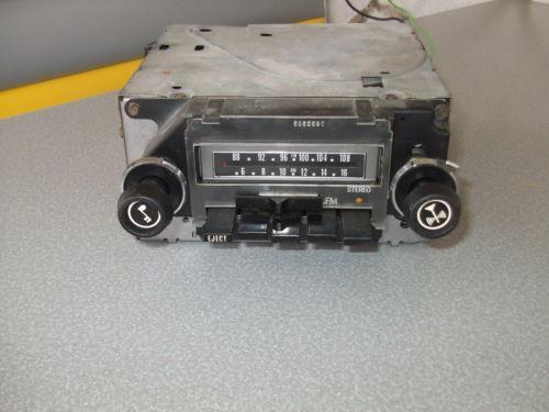 Vintage Delco Radio