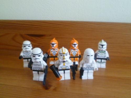 Lego star wars figures clone ebay - Croiseur star wars lego ...