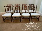 Mahogany Dining Chairs Chippendale