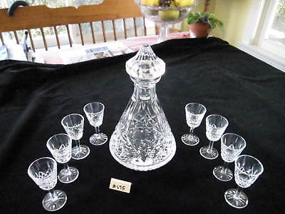 WATERFORD LISMORE ROLY POLY DECANTER 10.75