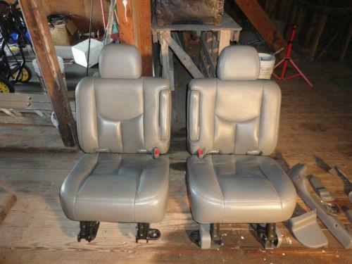 Yukon Xl 2nd Row Seat Ebay