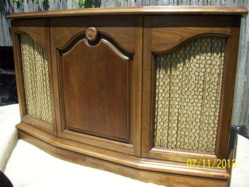 Vintage Record Player Console Ebay