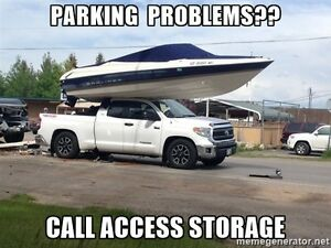 Indoor Parking Car, Boat, Motorcycle, Snowmobile, RV and Trailer