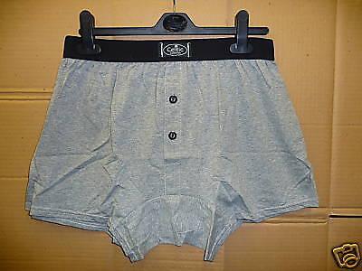 Celtic Mens Boxers in Grey 100% Cotton Medium