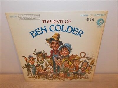 The Best Of Ben Colder . Jack Davis Cover Art . MGM . LP for sale  Brantford