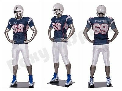Male Fiberglass Sport Athletic Style Mannequin Dress Form Display Brady01-mc