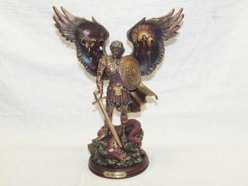 Bradford Exchange Michael Triumphant Warrior Bronze Sculpture Collection LE