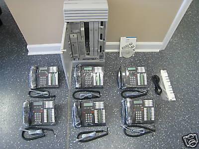 Nortel Norstar Mics 7.1 Office Phone System Meridian 6 T7316