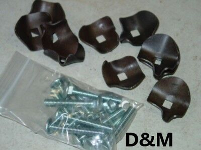 To Fit New Holland Hay Rake Teeth Hold Down Clips-10 Pack 256 258 56 55 57 259
