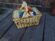 McCoy Basket Cookie Jar