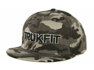 696b922eb658c TRUKFIT ORIGINAL CAMO Snapback Hat Black Grey OSFA ( 32) CAP Wayne  Adjustable