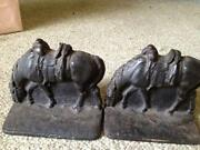 Cowboy Bookends