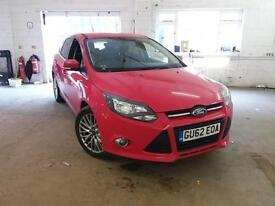 Ford Focus 1.0 SCTi 100ps EcoBoost 2012.75MY Zetec GOOD AND BAD CREDIT FINANCE