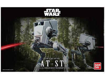 Star Wars AT-ST Imperial Walker, Modellbausatz 1/48 von Bandai, neu & OVP