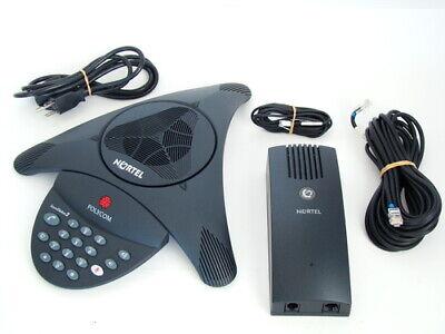 Polycom 2501-15100-601 Nortel Ntab4213 Norstar Conference Phone Refub Warnty