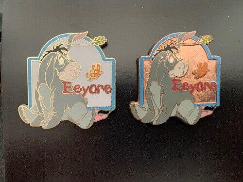 Disney Store 12 Months of Magic Winnie the Pooh EEYORE Prototype Pin Set