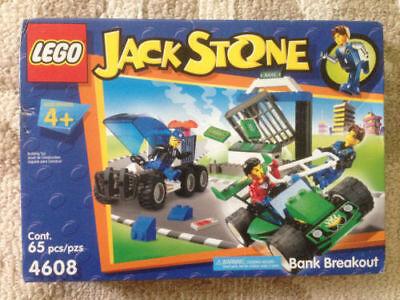 Lego Jack Stone Bank Breakout  4608  New Retired Gift