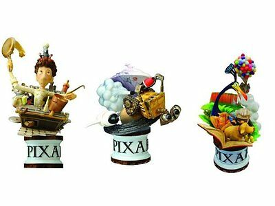 Disney Pixar Square Enix Formation Arts Set Ratatouille, Up And Wall-E LOOSE