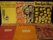 Vintage Sheet Music Irving Berlin