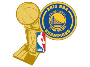Official 2015 NBA Finals Champions Pin Golden State ...