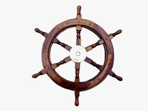 Wooden Ships Wheel Home Furniture Amp Diy Ebay