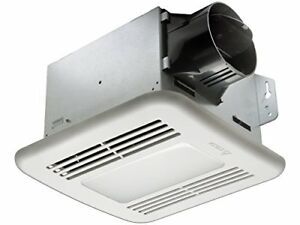 Delta Products Corp. 100 CFM Exhaust Bath Fan with LED Light
