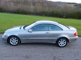 2003 Mercedes CLK270 CDI Elegance Auto. 111000 Miles, Service History. Lovely Car, Reluctant Sale.