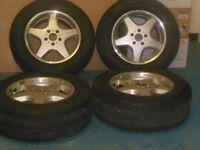 Mercedes G Wagon G55 AMG Alloy Wheels & Tyres 18 inch A4634010802