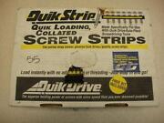 Quick Drive Screws