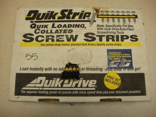 Quick Drive Screws Ebay