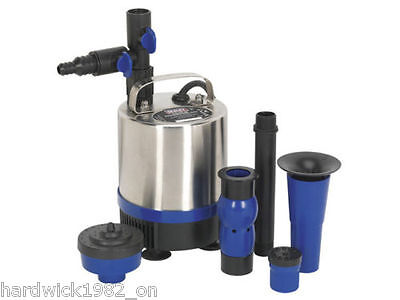 Submersible Pond Pump Stainless Steel 1750ltr / hr 230V