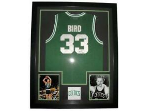 5567f5e6e7a Larry Bird Framed Jersey
