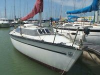 WANTED Caterham 7 for part exchange with Dufour 1800 sailing yacht